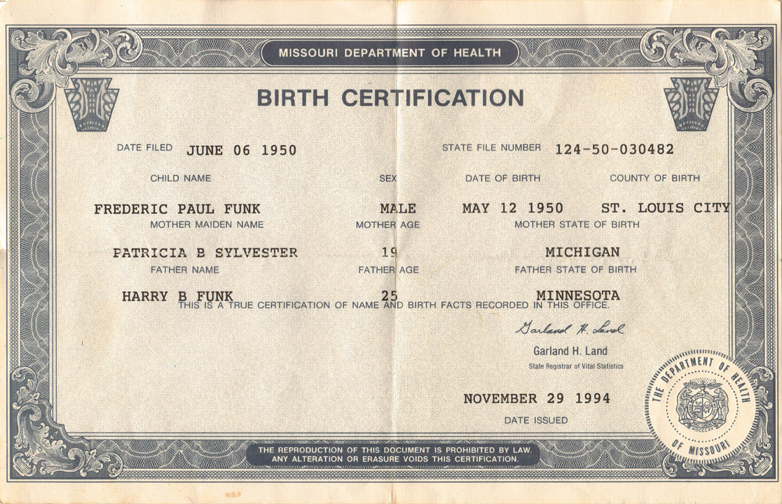 Birth Certificate What It Is Archive Forums